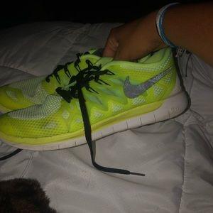 Nike free runs!